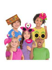 Luau Photo Booth Props 10ct