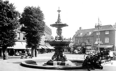 High Wycombe , Frogmore Square 1921.