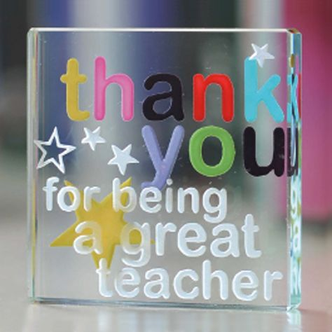 So much care goes into making these gifts perfect - we want you to be able to give your teacher something that shows how amazing and special they have been in your life. What better way to say it than with this colourful, star scattered thank you token? #Love #Stars #Gift #Teacher #Special #Gift #Spaceform #London