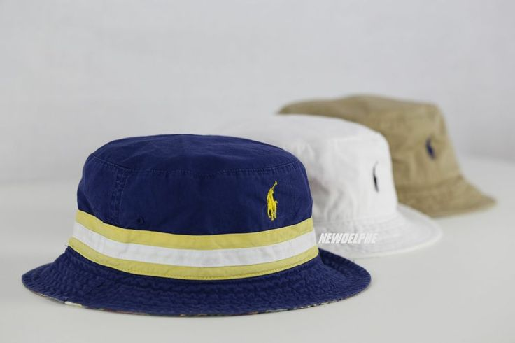 NWT POLO RALPH LAUREN Men's Pony Beachside Bucket Hat Cap S/M, L/XL