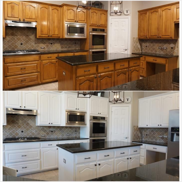 Paint Kitchen Cabinets White Ideas With Images Repainting Kitchen Cabinets Painting Kitchen Cabinets White Diy Kitchen Cabinets Painting