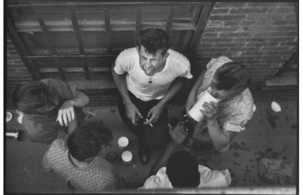 OG New York photographer Bruce Davidson followed a gang of Brooklyn misfits known as the Jokers back in 1959. During his time with the teens, he pulled a Larry Clark prior to Larry Clark himself, immersing himself in their world and capturing it all on camera.