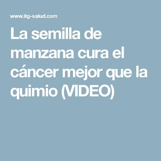 La semilla de manzana cura el cáncer mejor que la quimio (VIDEO)