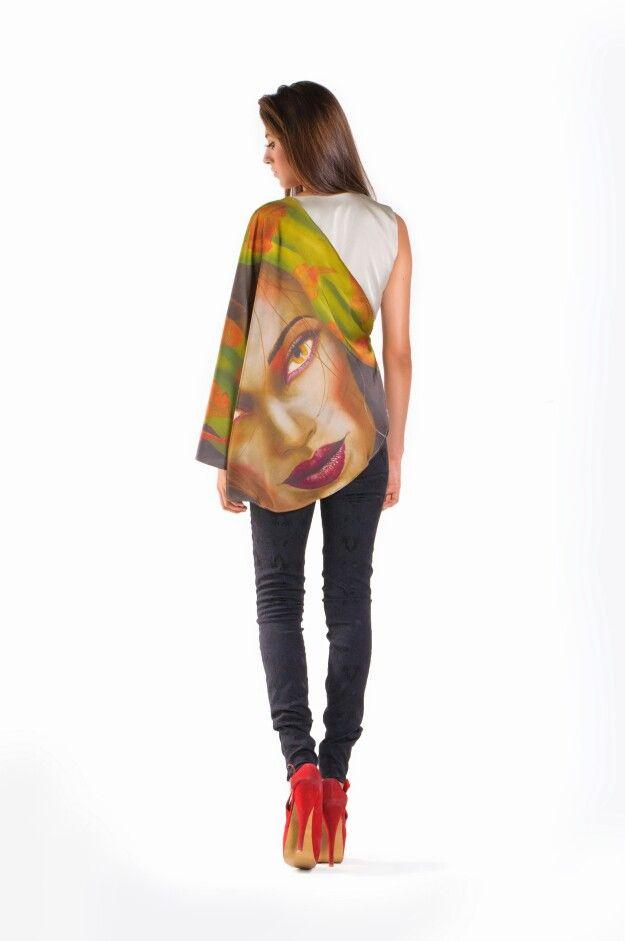 Love my job... Mystic Collection by @ReiGiraldo for @artbition www.artbition.com #Art @vitololi #Mystic #Dress #Unique #Spring #Model #Vogue #fashion #YoQuieroTener #wishlist #Ss2014