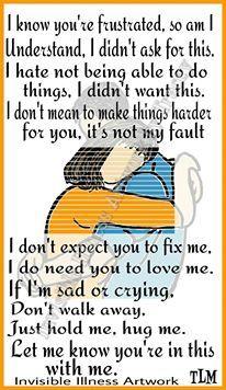 ***I know... | chronic pain, CRPS/RSD, invisible illness