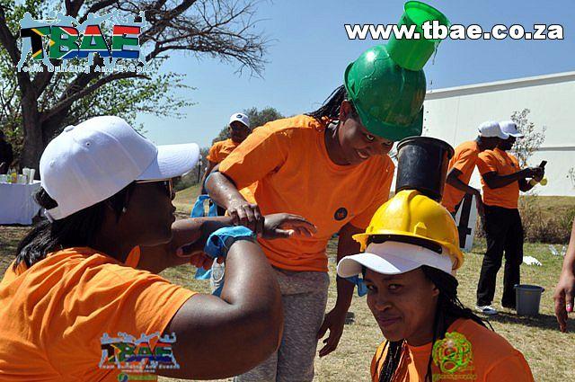 Bucket Challenge Team Building Exercise