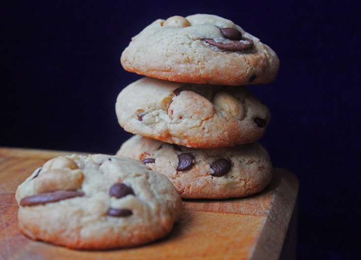 Peanutbutter & Chocolate Cookies