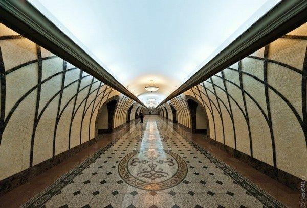 Almaty Metro, Kazakhstan via theatlanticcities #Subway #Almaty_Metro #Kazakhstan