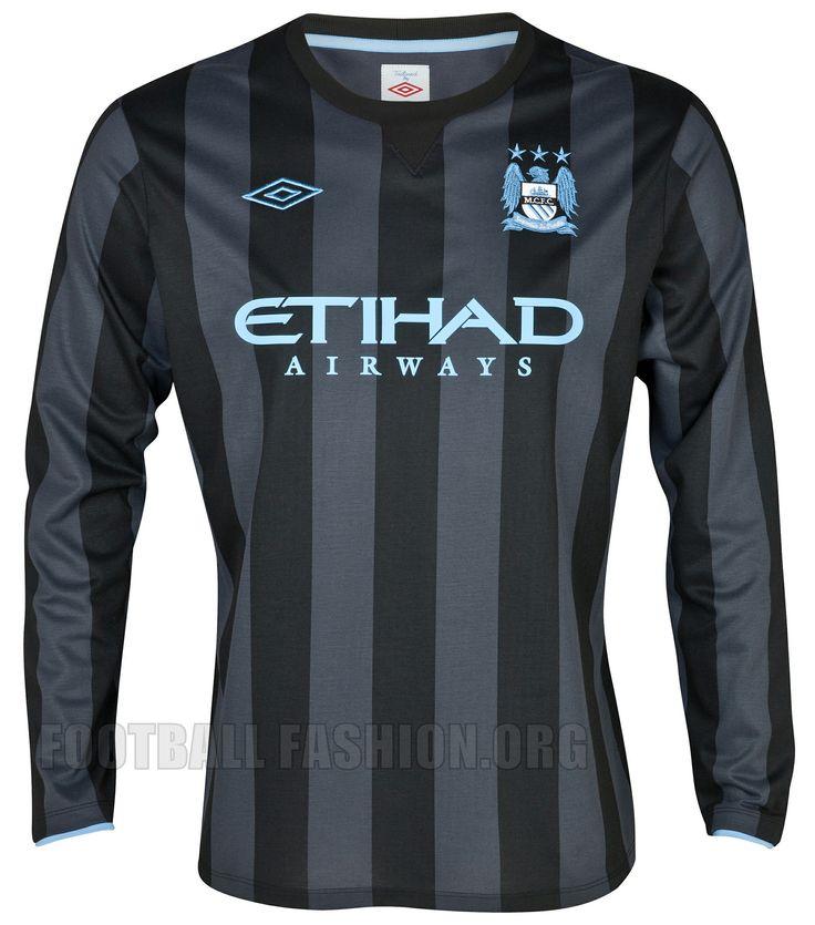 Manchester City Umbro 2012/13 European Away Kit: Soccer Jerseys, Cities Umbro, Manchester Cities, Manchester City