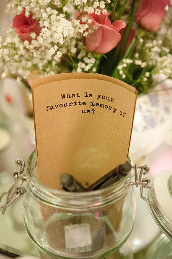 Vintage wedding party idea for the guests Wedding favours: Vintage handkerchief Photos by Foleyphotography.co.uk