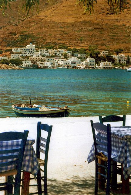 Taverna by the sea in Amorgos