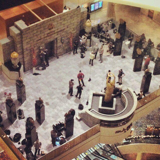 "Mockingjay movie set photos | ""MayTheOddsBeEverInYourFavor ..."