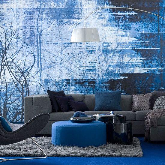 """Lees STIJLIDEE's blog """"Wat doet de kleur blauw in je interieur"""" op http://stijlidee.wordpress.com Foto: House to Home"""