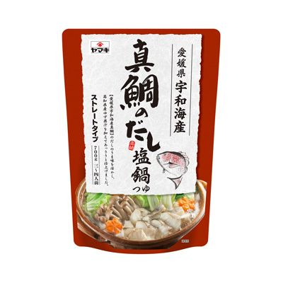 <真鯛のだし> 塩鍋つゆ - 食@新製品 - 『新製品』から食の今と明日を見る!
