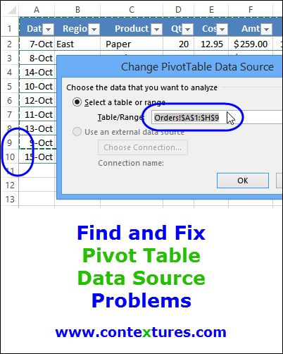 One Pivot Table From Multiple Worksheets Excel 2003 - how ...