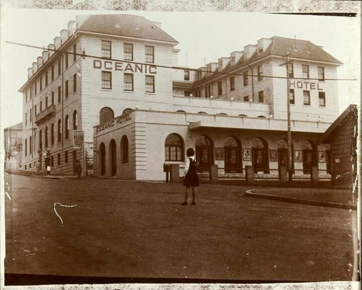 Oceanic Hotel in Coogee in 1920.