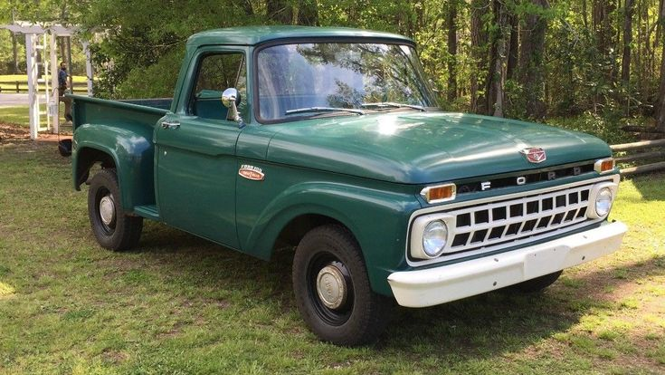 It Is What Was 1965 Ford F100 USA Survivors