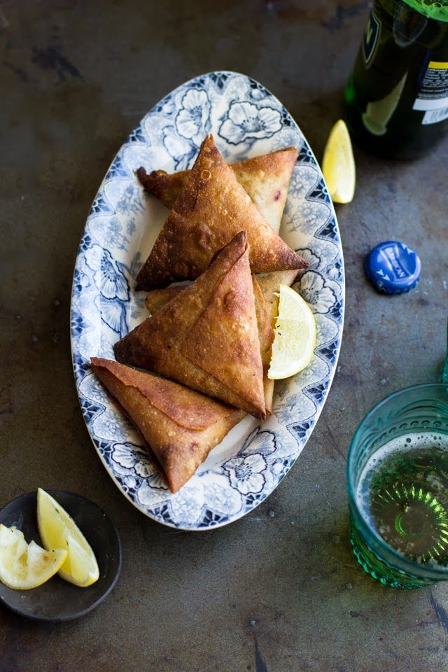 Spicy Minced Meat Samosas (recipe) | Journey Kitchen