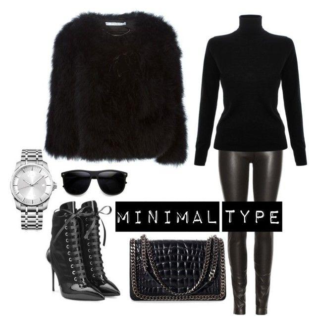 """MINIMAL TYPE"" by fashiondaring on Polyvore featuring Givenchy, Maison Margiela, Victoria, Victoria Beckham, Giuseppe Zanotti, Zara and Calvin Klein"
