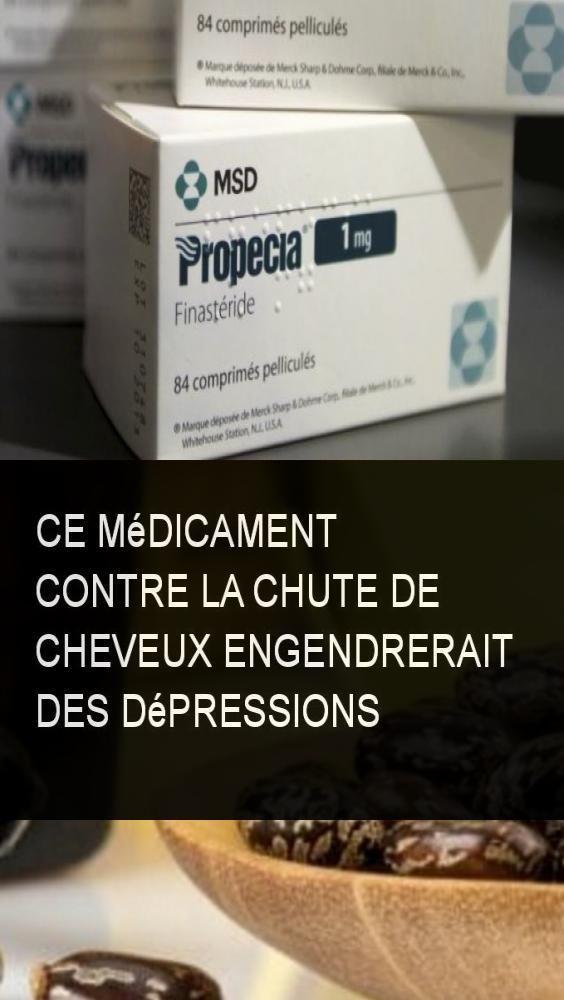 Ce médicament contre la chute de cheveux engendrerait des dépressions