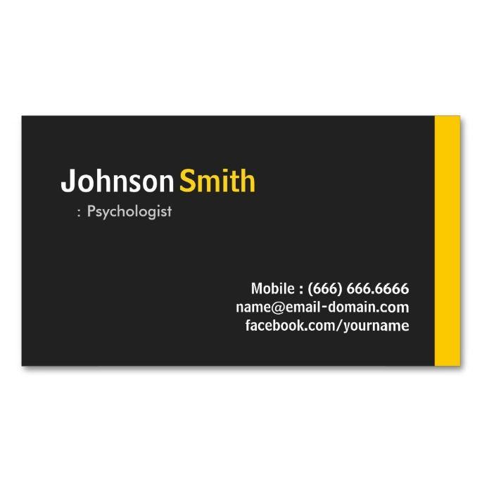 2138 Best Psychology Psychologist Business Cards Images On