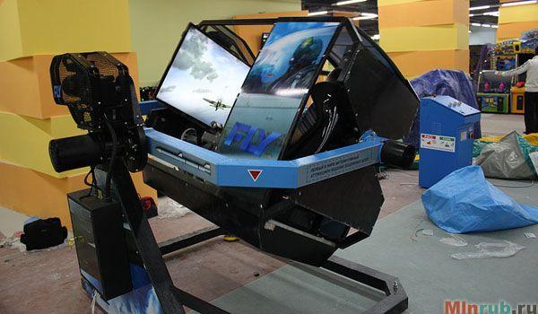 FLY-Motion - бизнес на аттракционе воздушных боев. Реалистичный авиасимулятор - быстро окупаемый бизнес в сфере развлечений и техники.