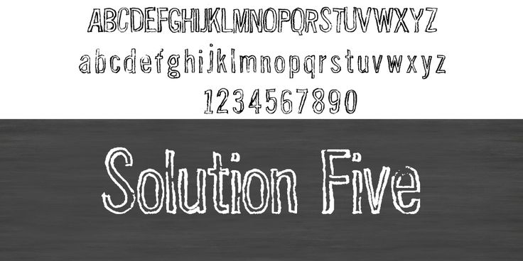 Solution Five typo