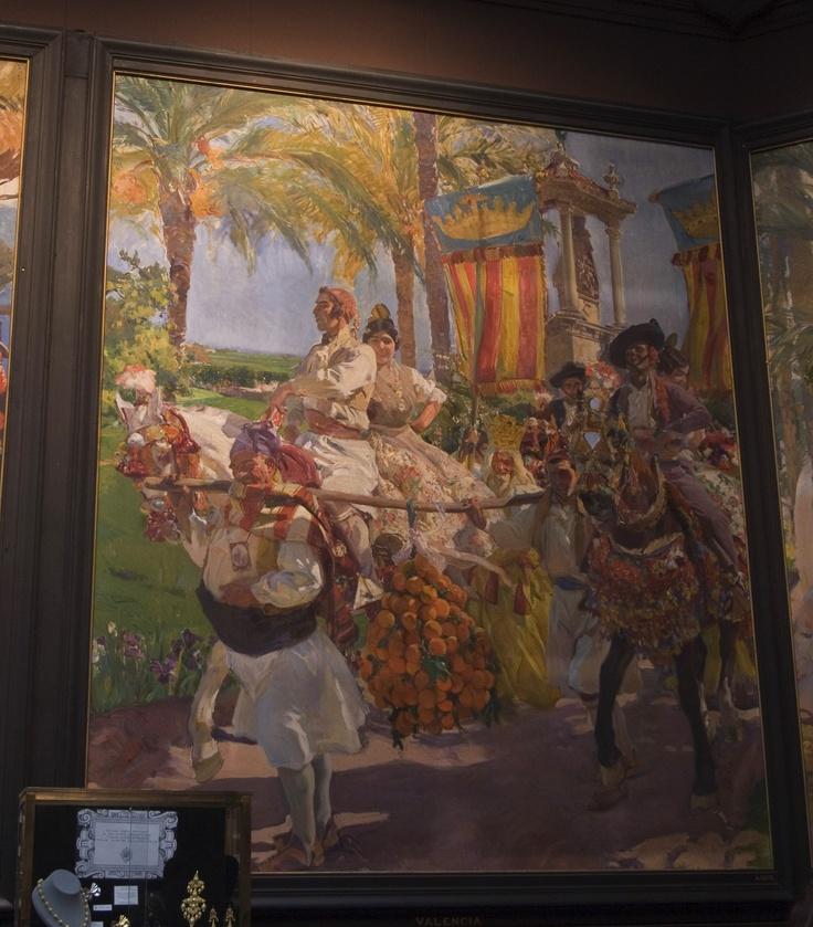 Hispanic Society – 'Valencia' by Joaquin Sorolla    See the world on you iPad - www.museumplanet.com