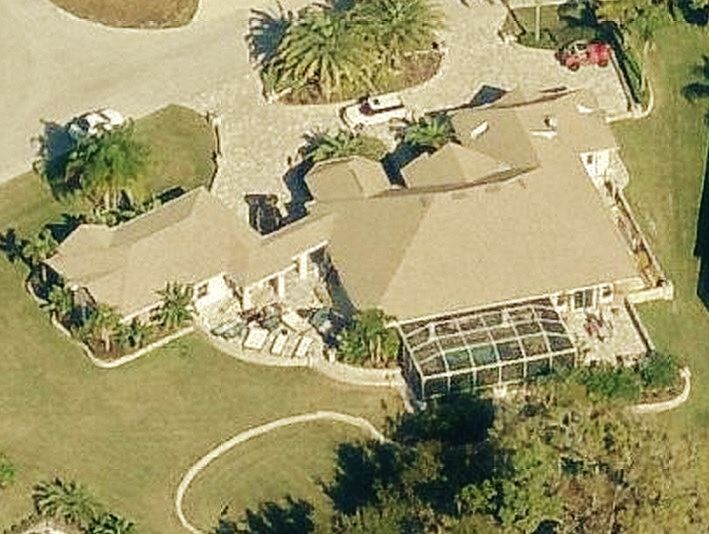 John Cena's home in Land O' Lakes, Florida - house picture