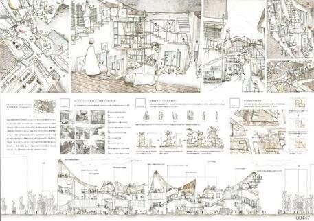 ドローイング 建築 - Google 検索