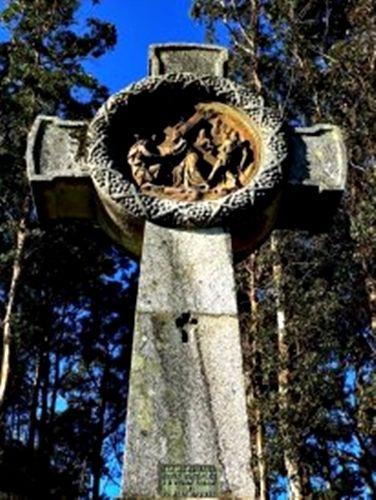 Cruz Celta en Galicia, una de las regiones Celtas por excelencia