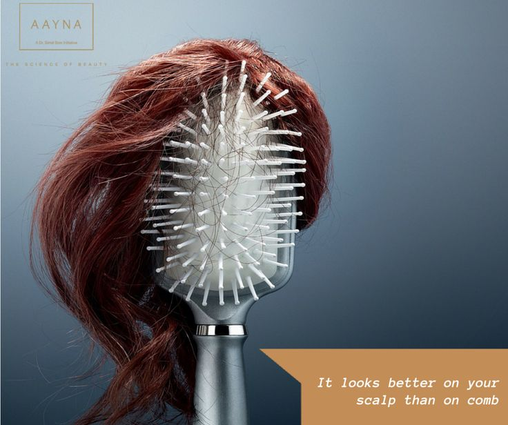 Don't you agree? PRP Hair Loss Treatment at Aayna is here to save your day! Book your appointment now! www.aaynaclinic.com  PS- We have an offer too!