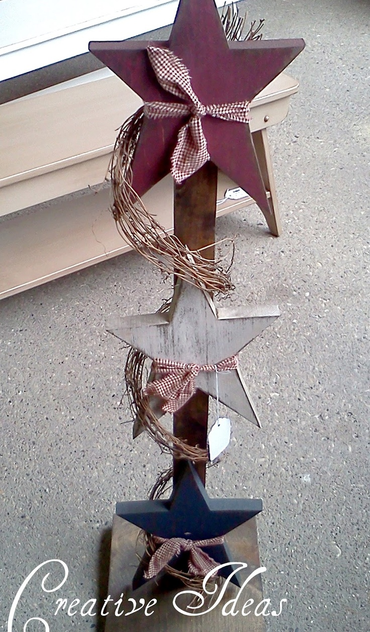 Primitive wood crafts to make - Find This Pin And More On Wooden Stars And Crafts Creative Ideas Primitive