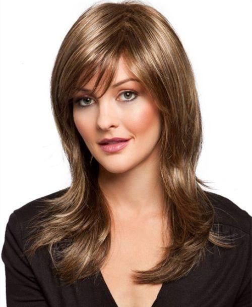 Marvelous Long Fringe Hairstyles