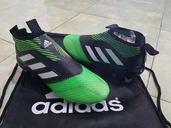 Jual Promo Sepatu Bola Adidas Ace17 Purecontrol Fg Black Green