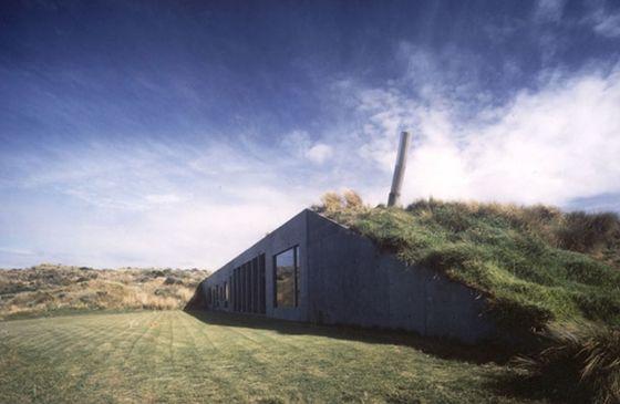 Camouflage Architecture – Bauen unter der Erde