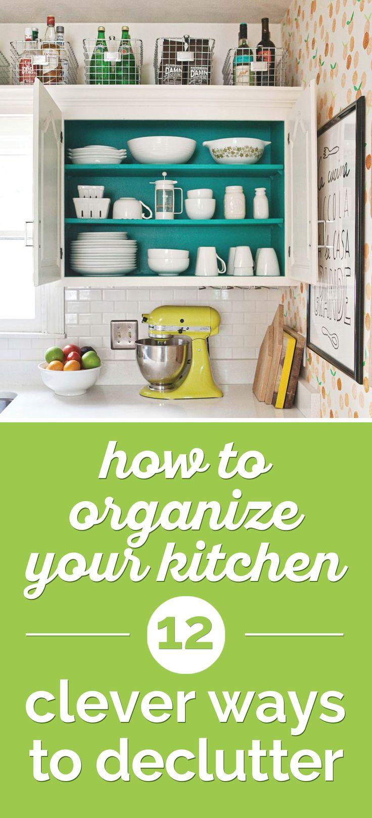 85 best images about Organization Ideas on Pinterest   Large cork ...