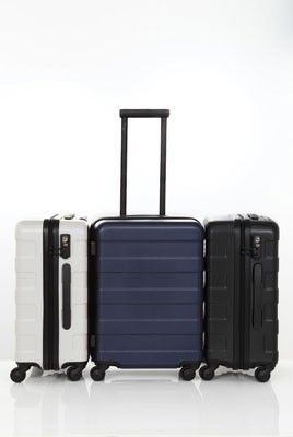 Nice hard case from the japanese company muji luggage for Valise muji prix