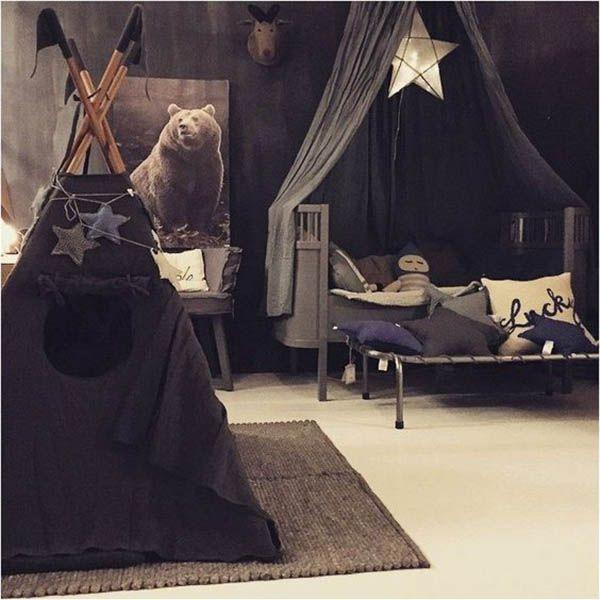 Decor Inspiration - Black In A Kids Room | The Junior