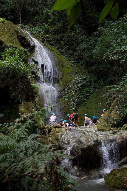 Vanuatu Cascade Waterfalls.