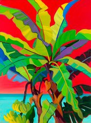 I love the colors! This speaks to me. Went to the website. Amazing art! Travelers Palm that I pinned earlier is the same artist. I wanted to pin more. I couldn't figure out how.
