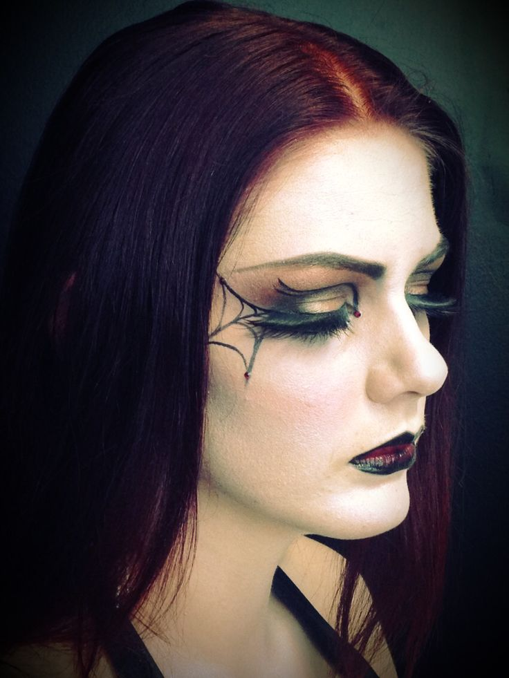 Morticia Addams created for a final assessment in my specialist makeup diploma