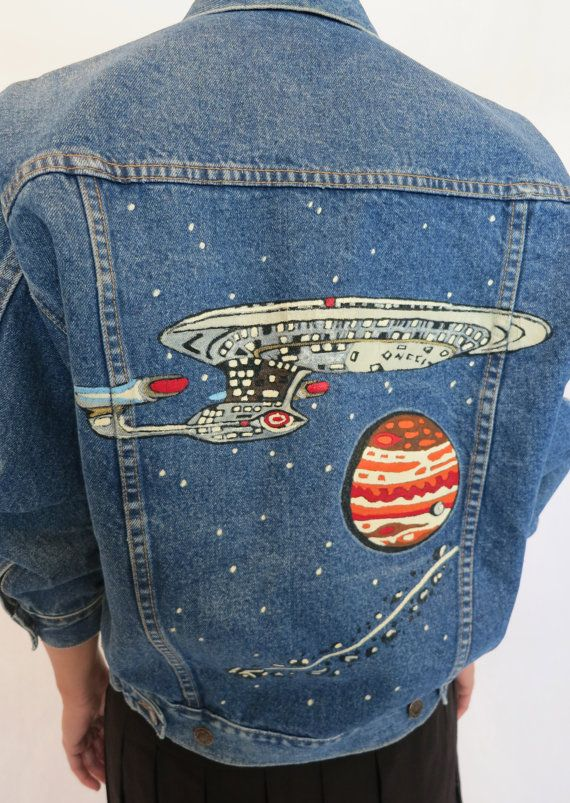 """The """"Out of This World"""" Wrangler Denim Jacket."""
