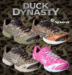 Spira® Duck Dynasty Camouflage Shoe with WaveSpring® Technology