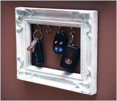 marco para las llaves