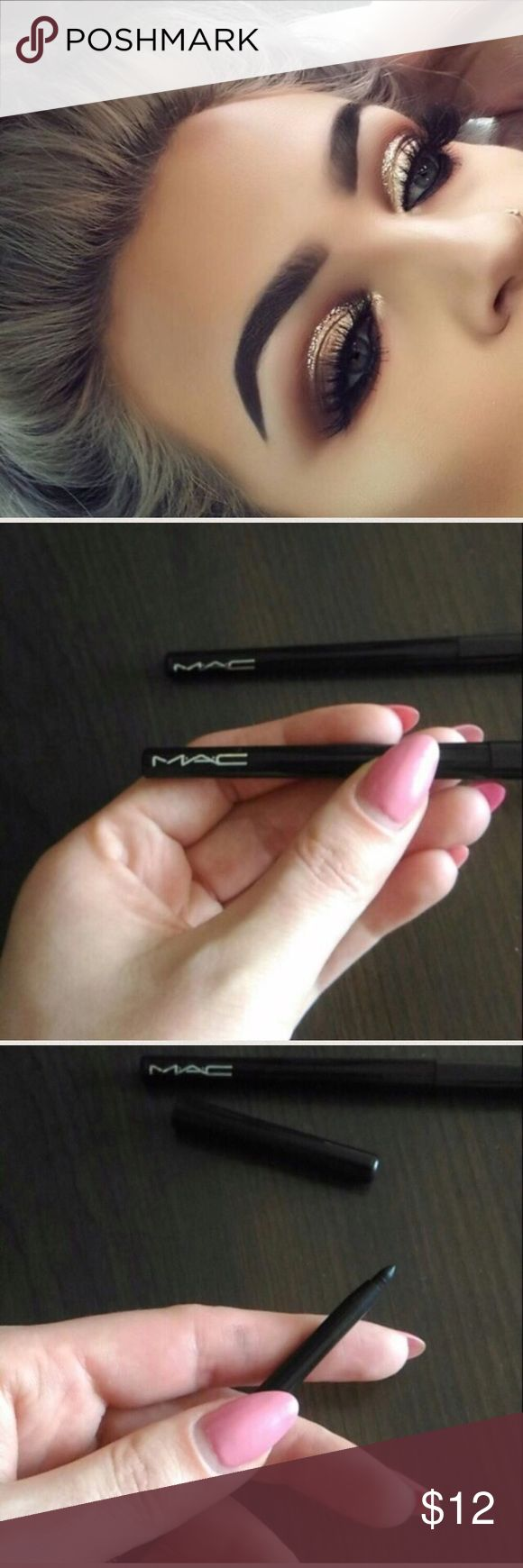 Two MAC Eyeliner 🎀 Brand New Two MAC Eyeliner 🎀  •Brand new •Never used  •Transfer-resistant •Long wearing, 8 hours •Smudge resistant • Applies soft and creamy •Color-Black Tart Makeup Brushes & Tools