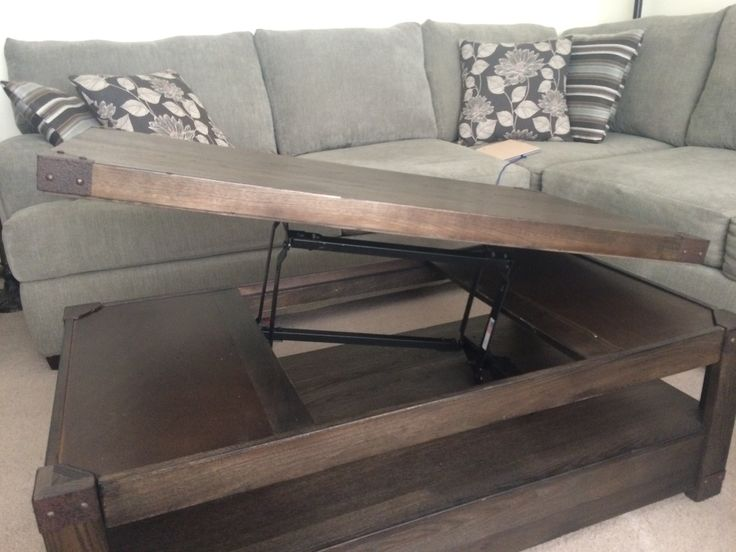 We Bought An Expandable Coffee Table For Over $500, Broke In