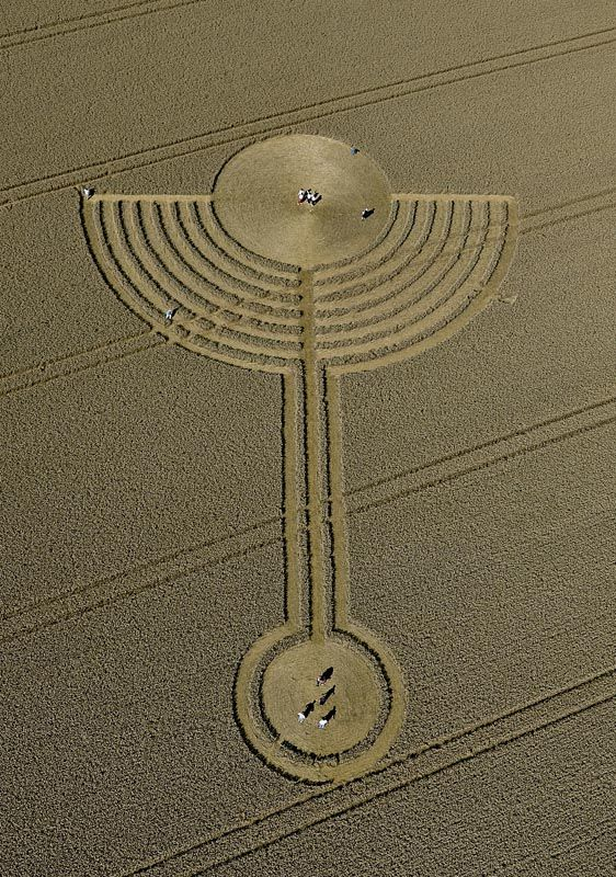 Crop Circle Message Decrypted; Latest Crop Circle - Ashtar Command - Spiritual Community Network
