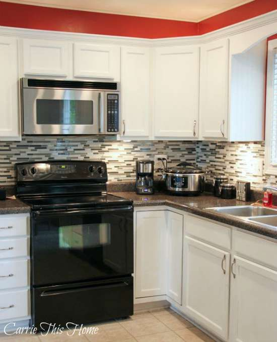 How Much To Redo Kitchen Cabinets: Best 25+ Kitchen Black Appliances Ideas On Pinterest