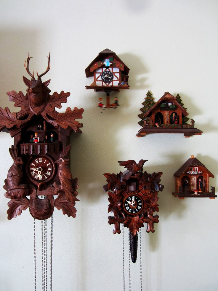 grand Cuckoo Clock Spaces Eclectic design ideas with Cuckoo Clocks My Houzz